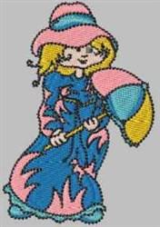 Rain Day Laura embroidery design