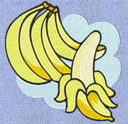 Banana Bunch embroidery design