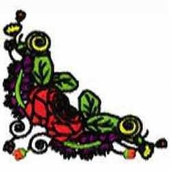 Blooms Corner embroidery design