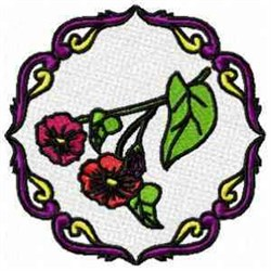 FSL Circle Blooms embroidery design