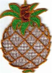 FSL Pineapple embroidery design