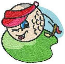 Golf Visor embroidery design