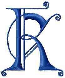 Kingdom K embroidery design