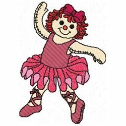Ballerina Ann embroidery design