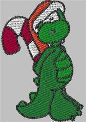 Holiday Gator embroidery design