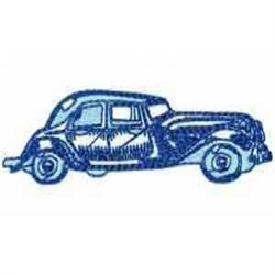 Old Fashion Car embroidery design