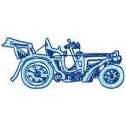 Old Fashion Automobile embroidery design