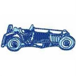 Old Vehicle embroidery design