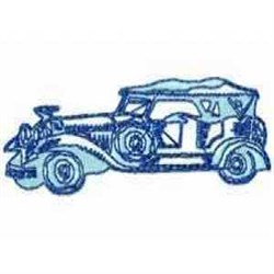 Old Automobile embroidery design