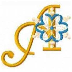 Snowflake A embroidery design