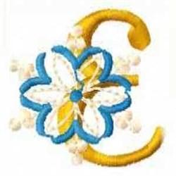 Snowflake E embroidery design