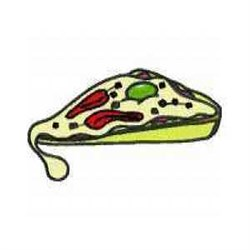 Pizza Dinner embroidery design