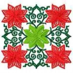 Blossom Block embroidery design