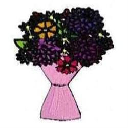 Blossoms Bouquet embroidery design