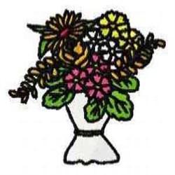 Bouquet Blossoms embroidery design