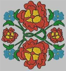 Flower Design embroidery design