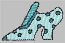 Spotted Shoe embroidery design