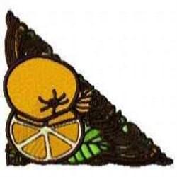 Orange Corner embroidery design