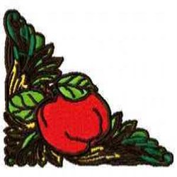 Fruit Corner embroidery design