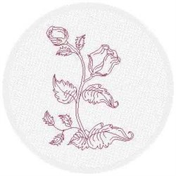 FSL Rose Buds embroidery design