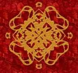 Golden Design embroidery design