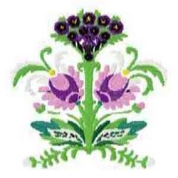 Beautiful Florals embroidery design