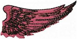 Right Wing embroidery design