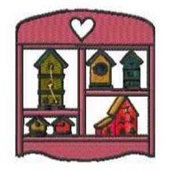 Birdhouse Collection embroidery design