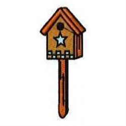 Wooden Birdhouse embroidery design