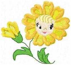 Petal Pam embroidery design