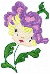 Petal Patsy embroidery design