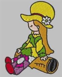 Bonnet Patch embroidery design