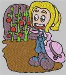 Tomato Carla embroidery design