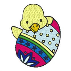 Easter Duck embroidery design