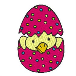 Easter Bird embroidery design