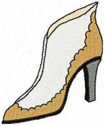 Ankle Boot embroidery design