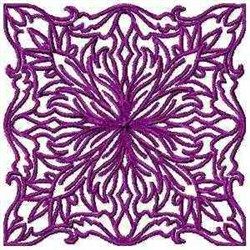 Swirl Quilt Square embroidery design