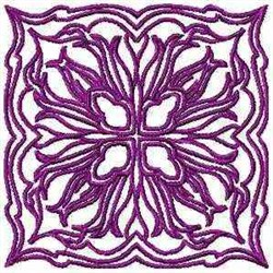 Redwork Quilt Square embroidery design