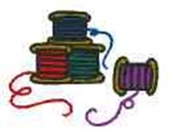 Thread embroidery design