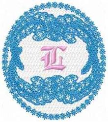 Victorian Lace L embroidery design