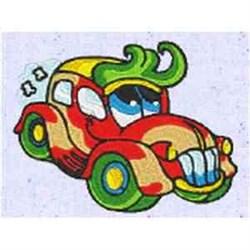 Funny Automobile embroidery design