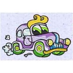Funny Auto embroidery design