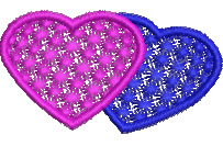 Candlewick Hearts embroidery design