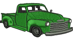1953 Pickup embroidery design