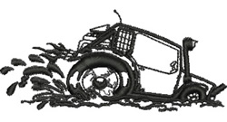 Mud Buggy embroidery design