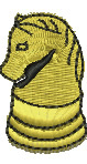 Chess Piece embroidery design