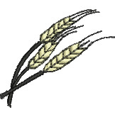 Stalks of Wheat embroidery design