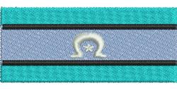 Torres Strait Islander Flag embroidery design