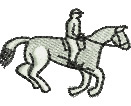 Horse Jumping embroidery design