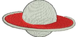 Saturn embroidery design